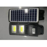 China Outdoor IP65 ultra Bright ABS Integrated 30 60 90 w Led All In One Solar Street Light COB Light on sale