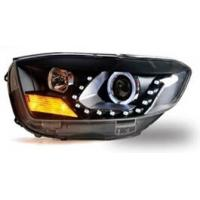 China High Power for Toyota Highlander Modified Car Headlights Of Angel Eyes / Car LED Head Lamps on sale