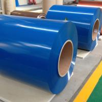 China Flat Color Coated Aluminum Coil  Aluminum Roofing Coil PE PVDF Coating on sale