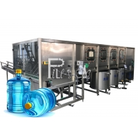 China Drinkable Water SUS304 Mineral Water Bottling Machine on sale