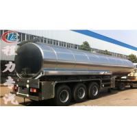 China high quality and best price stainless steel 40000L-50000L milk tank trailer for sale, HOT SALE!40-50m3 milk tank on sale