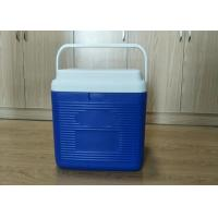 Quality 24L Plastic Foam Green Cold Chain Pcm Packaging Cooler Box With Handle In Medical wholesale