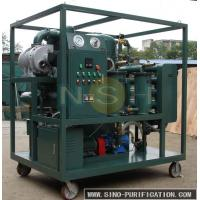 Buy cheap Touch Screen Vacuum Oil Purifier Fully Automatic Insulating For High Voltage from wholesalers