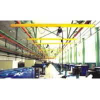 Quality Single Girder Suspension Light Crane Systems With Double Beam , Telescopic Beam wholesale
