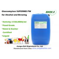 Quality Food Grade Liquid Glucoamylase Hydrolytic Enzymes for Alcohol and Breiwng Production wholesale
