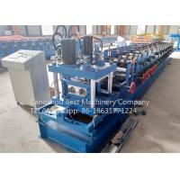 Quality 80 - 300 mm Manual Change Size C Purlin Roll Forming Machine Roofing Usage wholesale