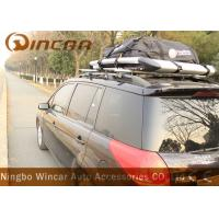 Quality Waterproof Roof Top Cargo Bag Car Roof Storage 420d Nylon Material In Black wholesale