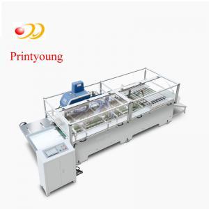 China Kraft Semi - Automatic Paper Bag Making Machine / Hand Bag Making Machine By The Roll on sale