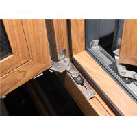 Aluminum Frame Glass Windows Door Closer 1.2 Mm - 2.2 Mm Profile Thickness