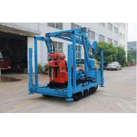Quality Large Power Spindle Speed Diamond Drill Rig 22kw 1470rmp Drilling Depth Up To 600 Meters wholesale