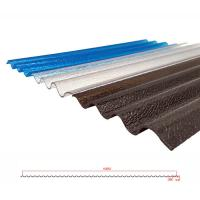 China Plastic corrugated roofing sheets on sale