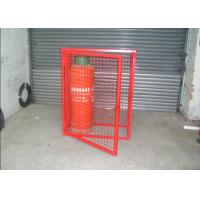 China Heavy Duty Gas Cylinder Cages Multi Colors Flexible / Foldable High Security on sale