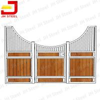 China Durable Easy To Stall Steel Horse Stables Durable Wood Materials on sale