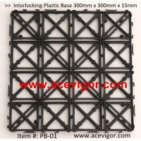 Cheap PB-01 Interlocking Plastic Base, Plastic mats, Plastic tile for sale