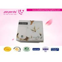 Quality White Anion Sanitary Napkin Napkins With Super Absorbent , Strip Package wholesale