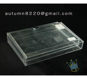 Quality BO (57) acrylic name card case wholesale