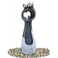 Quality Contemporary Garden Fountains , Statue Water Fountains Custom Design Acceptable wholesale