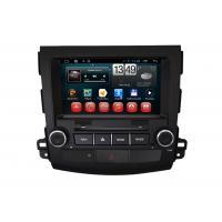 Quality Android System 3G WIFI MITSUBISHI Navigator Outlander 2012 Car DVD Player 1080P HD wholesale