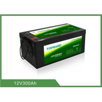 Buy cheap Low temperature 12V 300Ah Lithium Iron Phosphate Battery , over 2000 cycles from wholesalers