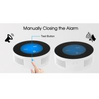 Quality Wireless Kitchen LPG Gas Smoke Detector APP Control Wall Mounting For Home Security wholesale