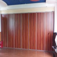 China Auditorium Acoustic Operable Wall Aluminum Movable Partition Board For Hotel on sale