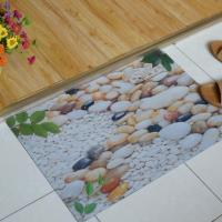 Quality Washable Soft Rubber Floor Carpet , Rectangular Rubber Bedroom Floor Mats wholesale