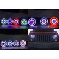 "Quality Jeep JK Wrangler 7"" HID & LED Headlights 7 Color Options wholesale"