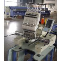 Quality Intelligent 3D Cap Single Head Embroidery Machine , Multi Color Embroidery Machine  450 x 330mm wholesale