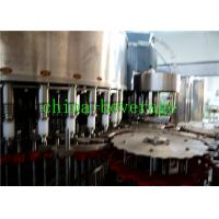 Quality Electric Mineral Water Bottling Machinery / Carbonated Drink Filling Machine wholesale