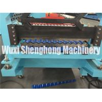 Quality 1.25 M Width Trapezoid Roof Panel Roll Forming Machine For Commercial Metal Buildings wholesale