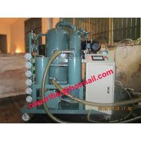 Quality double stage vacuum transformer oil purifier,transformer Oil cleaning plant PLC,sutomatic insulation oil purification wholesale