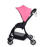 Quality pink concise baby stroller with multi-function complied with EN1888:2012 new design buggy wholesale