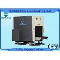 Quality Dual View X Ray Luggage Scanner , Two Generator X Ray Baggage Inspection System wholesale