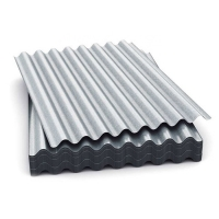 China Iron Zinc SGS 600mm Corrugated Galvanized Steel Sheet on sale
