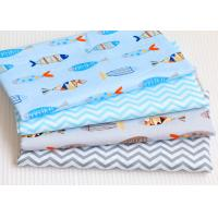 Quality Breathable Garment Printed Cotton Canvas With Comfortable Feeling wholesale