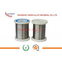 Quality 6J40 Precision Alloy Round Wire Low Resistance Ultrathin Silver Bright Wire/ Ribbon wholesale