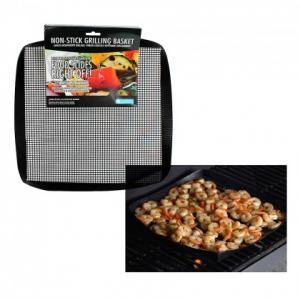 China ptfe coated fiberglass non-stick BBQ grill mesh mat on sale