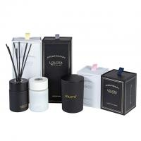 Quality Custom Luxury Classic Candle And Diffuser Set Frosted Soy Candle Gift Set wholesale