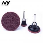 Quality TS Abrasive Sanding Discs , Flax Nylon Red  3m 2 Sanding Discs Automobile Polishing wholesale