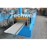 Quality PLC Control Cold Roll Forming Machine For Different Size Garage Door Panel wholesale