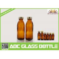 Quality 130ml Competitive Price Amber Syrup Glass Bottle wholesale