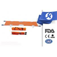 Quality Waterproof Leather Hospital Medical Emergency Stretcher With Folding wholesale