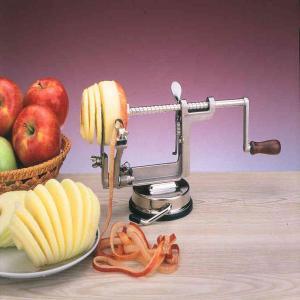 China Manual aluminum alloy nickle plated apple peeler on sale