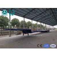 Quality 3 Axles Hydraulic Extendable Low Bed Semi Trailer Sinotruk Drop Deck Trailer wholesale