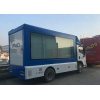 Quality 4x2 Scrolling Light Box LED Advertising Truck For Posters Mobile Roadshow wholesale