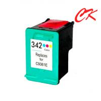 Quality 342 INK cartridge reman for HP Deskjet 5420/5440/5442/5443/HP Cartridge Photosmart 2570/2573/2575 wholesale