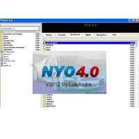Quality wl programmer Crack Nyo 4.0 FULL calculator for mileage, stereo, navigation, airbags wholesale