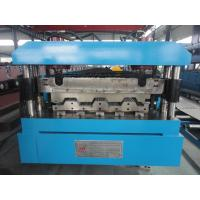Quality Manual / Hydraulic Floor Deck Roll Forming Machine 22KW 26 Stations wholesale
