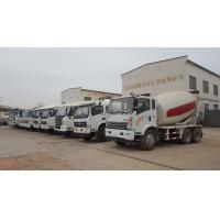 China 6m3 Concrete Mixer Truck with 4 or 6 wheels on sale