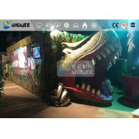 Cheap Fantastic Mobile 7D Movie Theater Dinosaur Cinema For Theme Park for sale